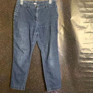 """Liz Claiborne-Dark Wash """"Emma"""" Skinny Jeans size 8"""
